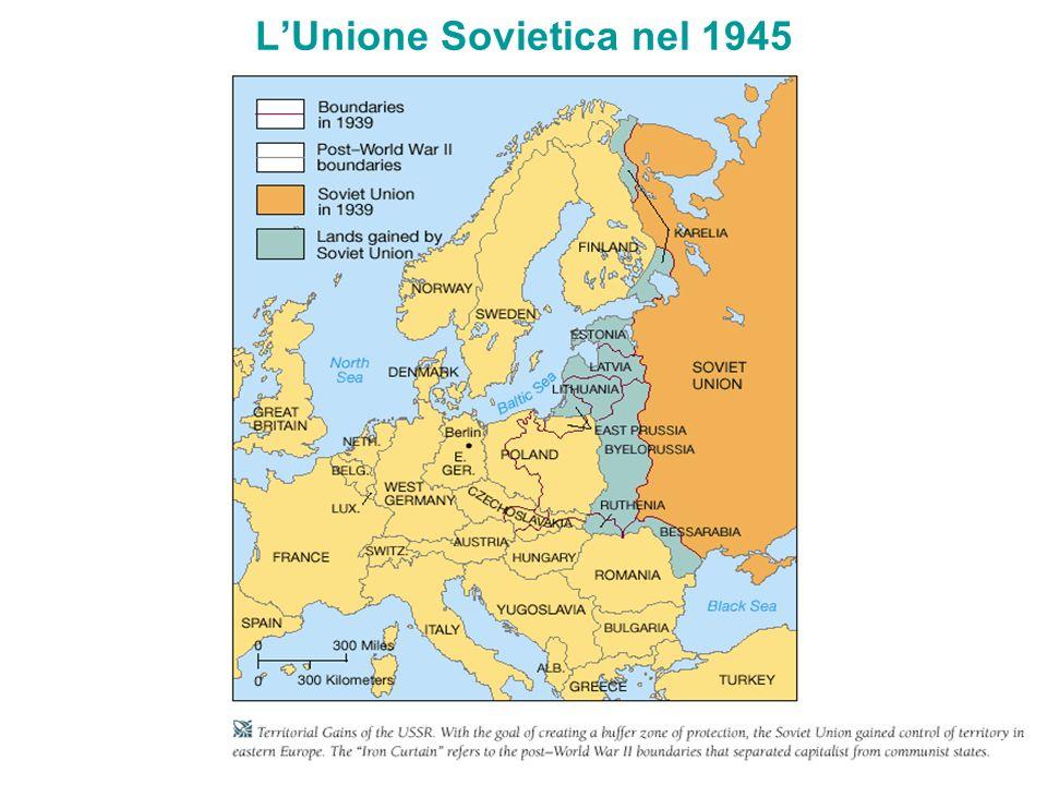 L'Unione Sovietica nel 1945