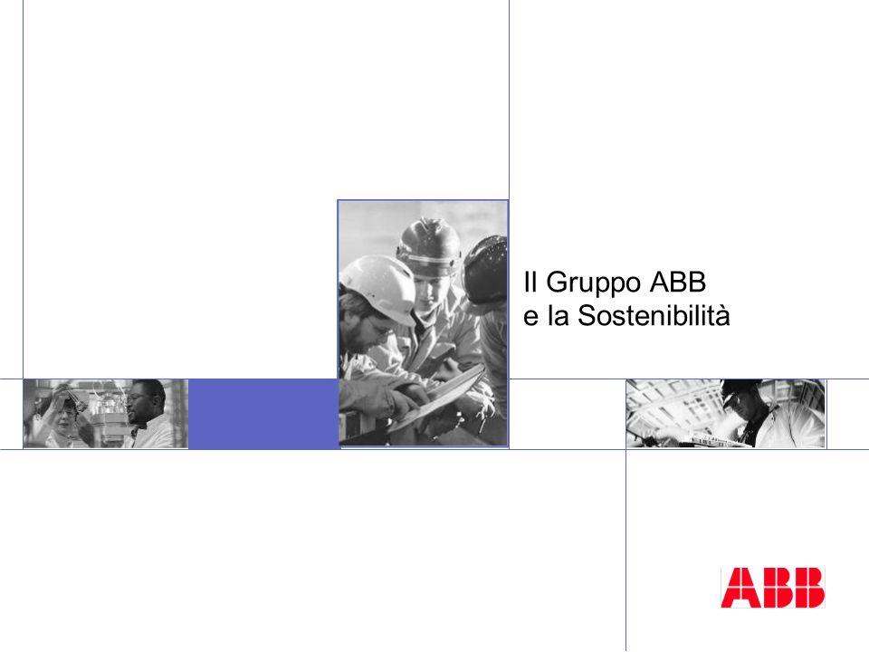 Il Gruppo ABB e la Sostenibilità