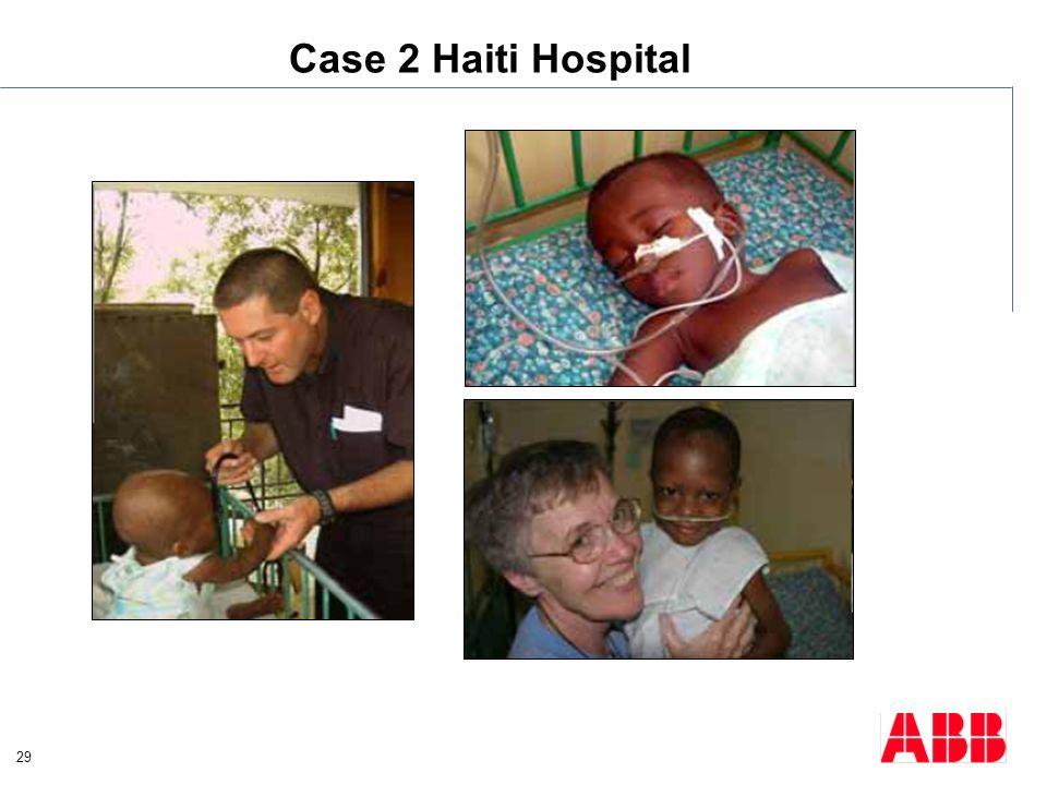 Case 2 Haiti Hospital