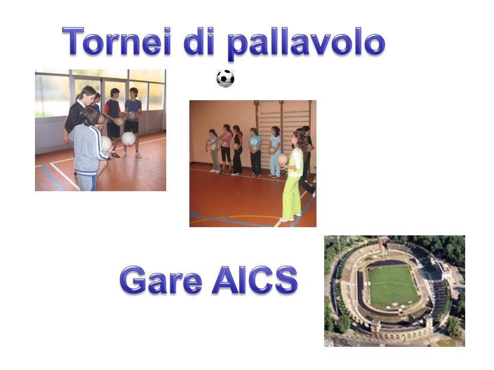 Tornei di pallavolo Gare AICS