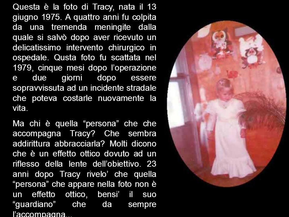 Questa è la foto di Tracy, nata il 13 giugno 1975