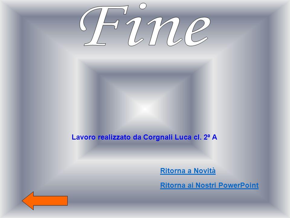Lavoro realizzato da Corgnali Luca cl. 2ª A