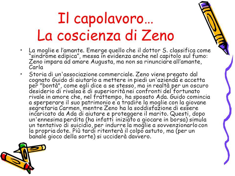 Il capolavoro… La coscienza di Zeno