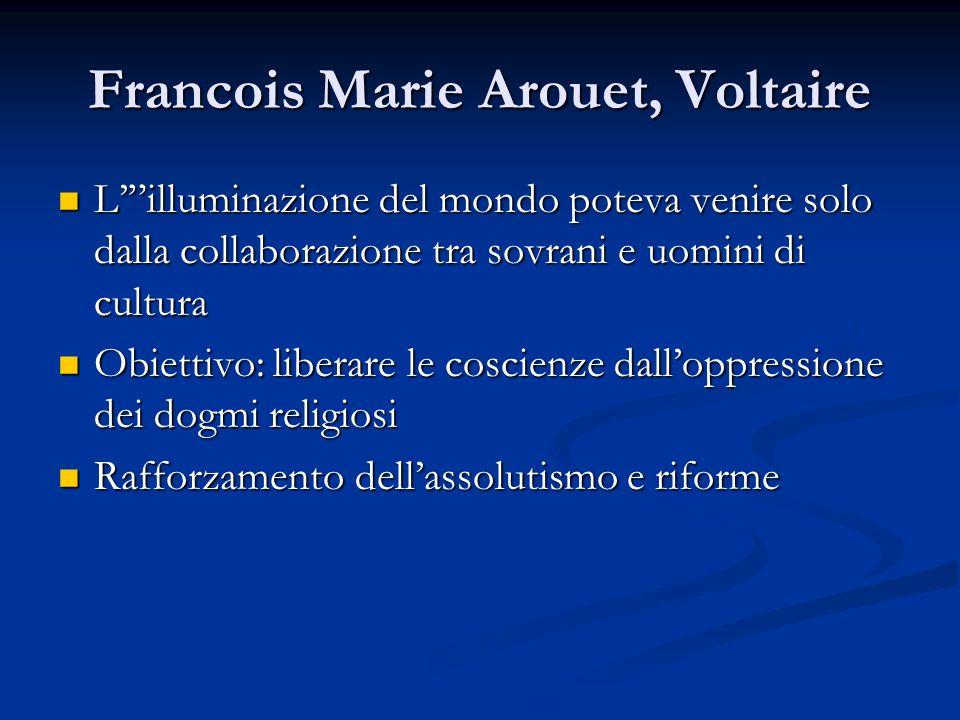 Francois Marie Arouet, Voltaire