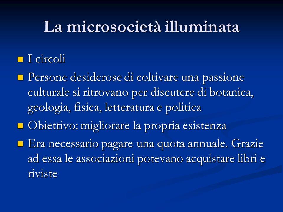 La microsocietà illuminata