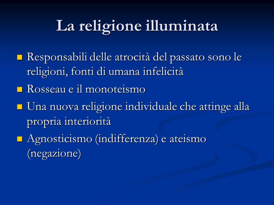La religione illuminata
