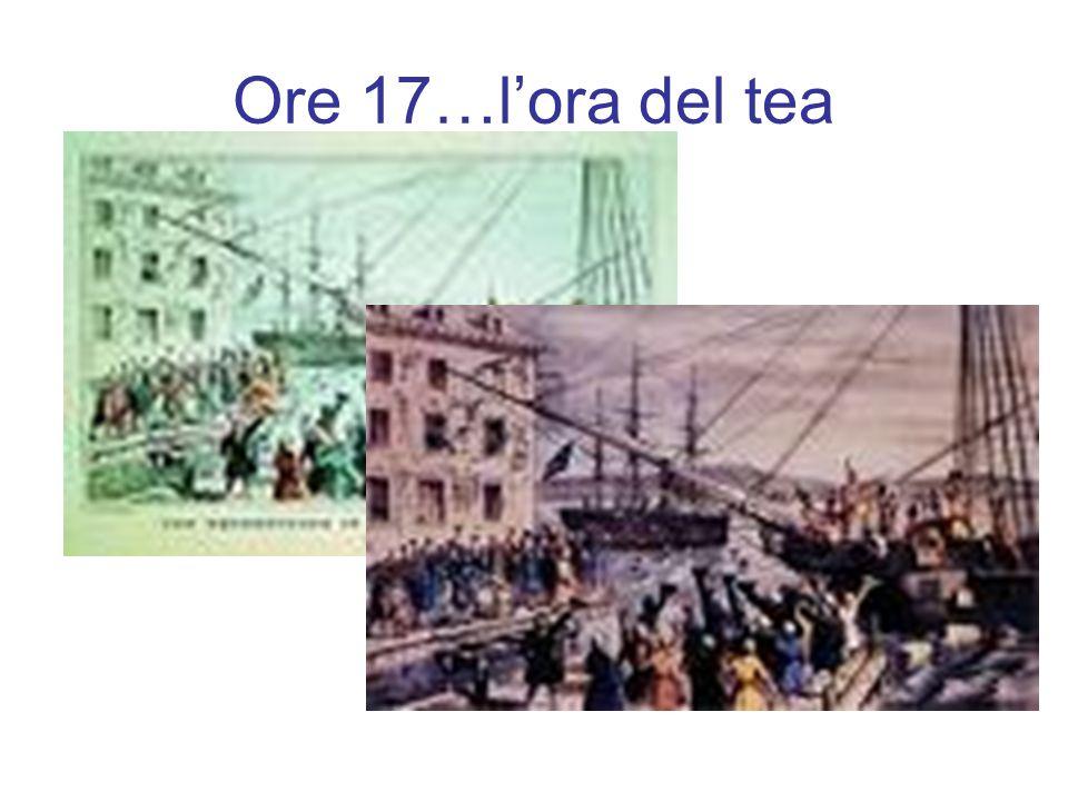 Ore 17…l'ora del tea