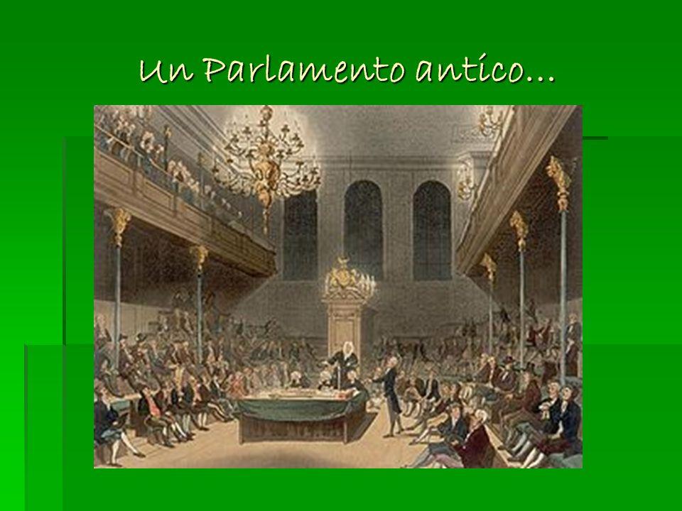 Un Parlamento antico… La Camera dei Comuni