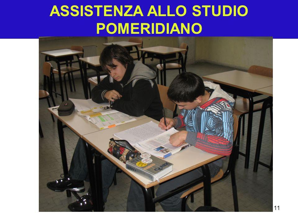 ASSISTENZA ALLO STUDIO POMERIDIANO