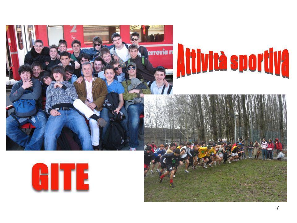 Attività sportiva GITE