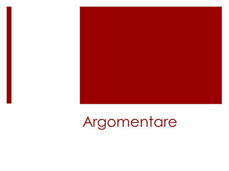 Argomentare