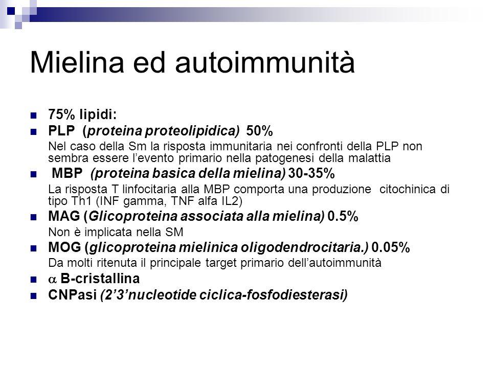 Mielina ed autoimmunità