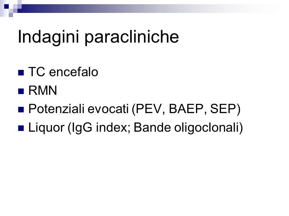 Indagini paracliniche
