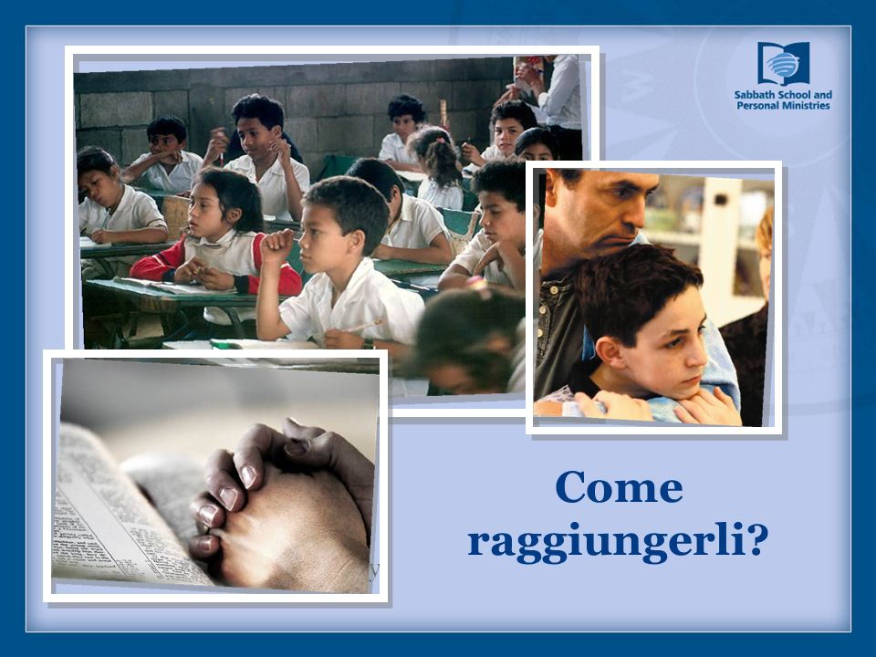 Come raggiungerli Picture captions/page copy