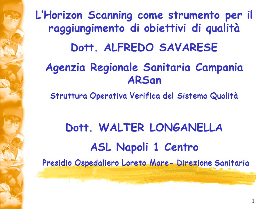 Agenzia Regionale Sanitaria Campania ARSan