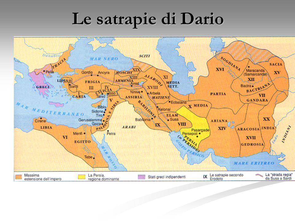 Le satrapie di Dario