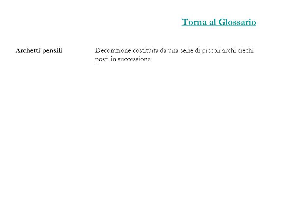 Torna al Glossario Archetti pensili
