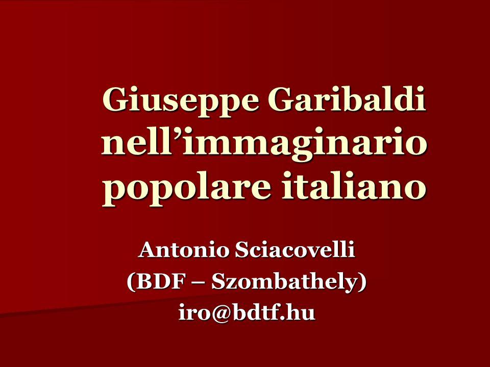 Giuseppe Garibaldi nell'immaginario popolare italiano
