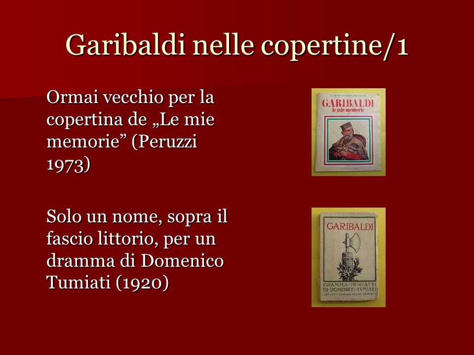Garibaldi nelle copertine/1