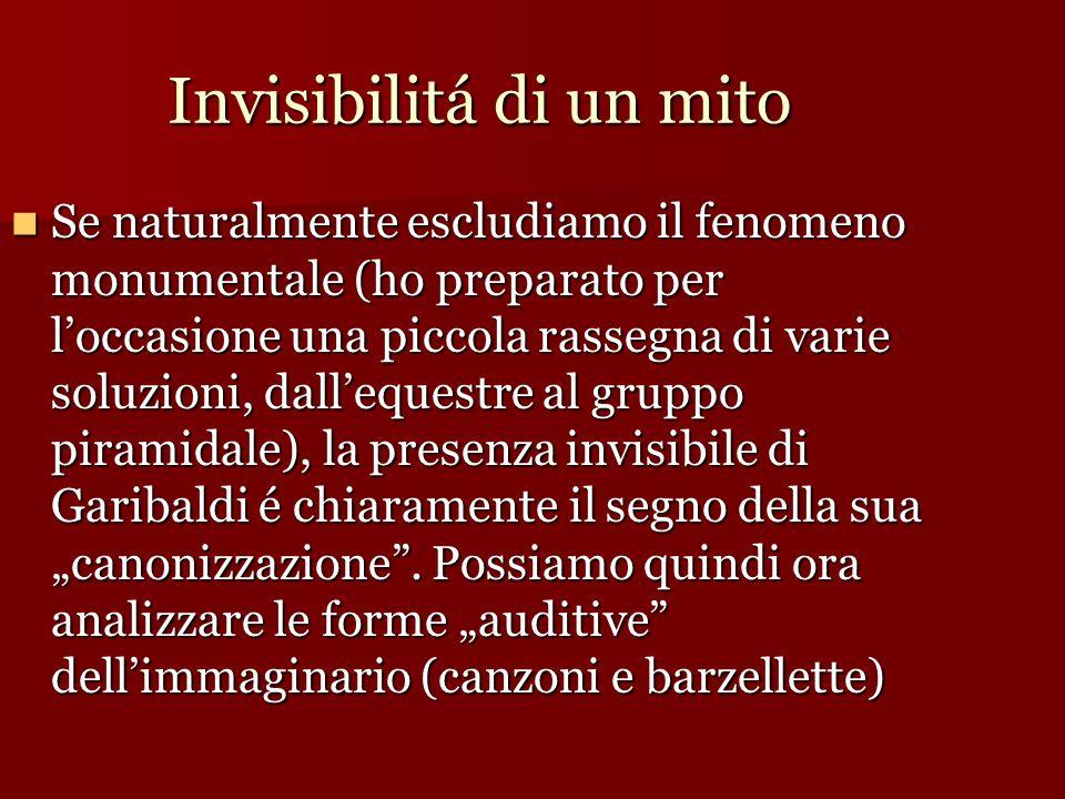 Invisibilitá di un mito