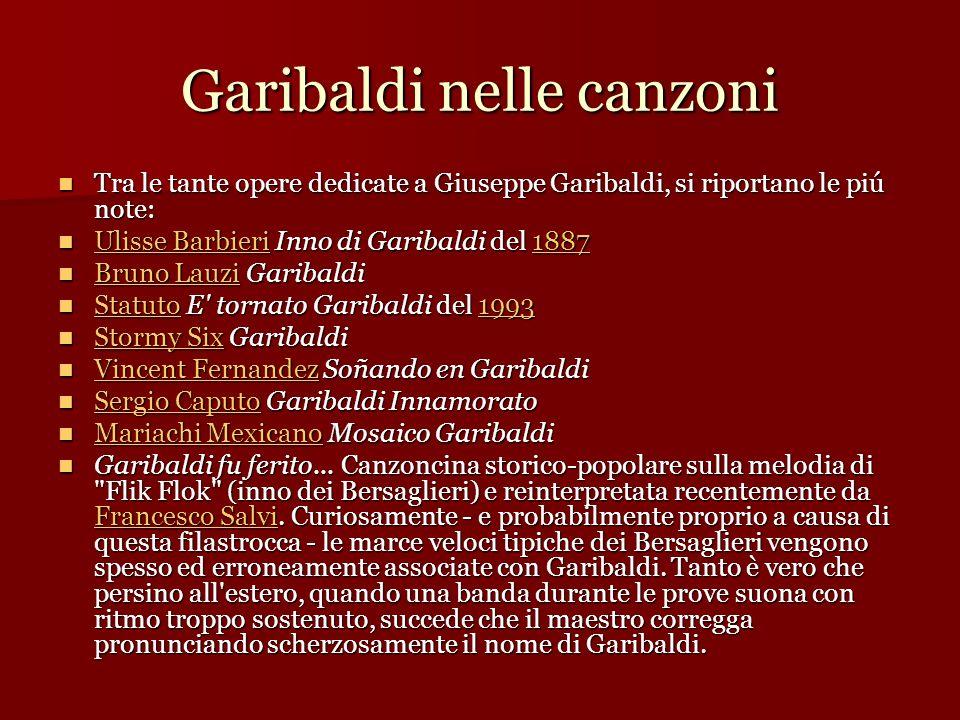 Garibaldi nelle canzoni