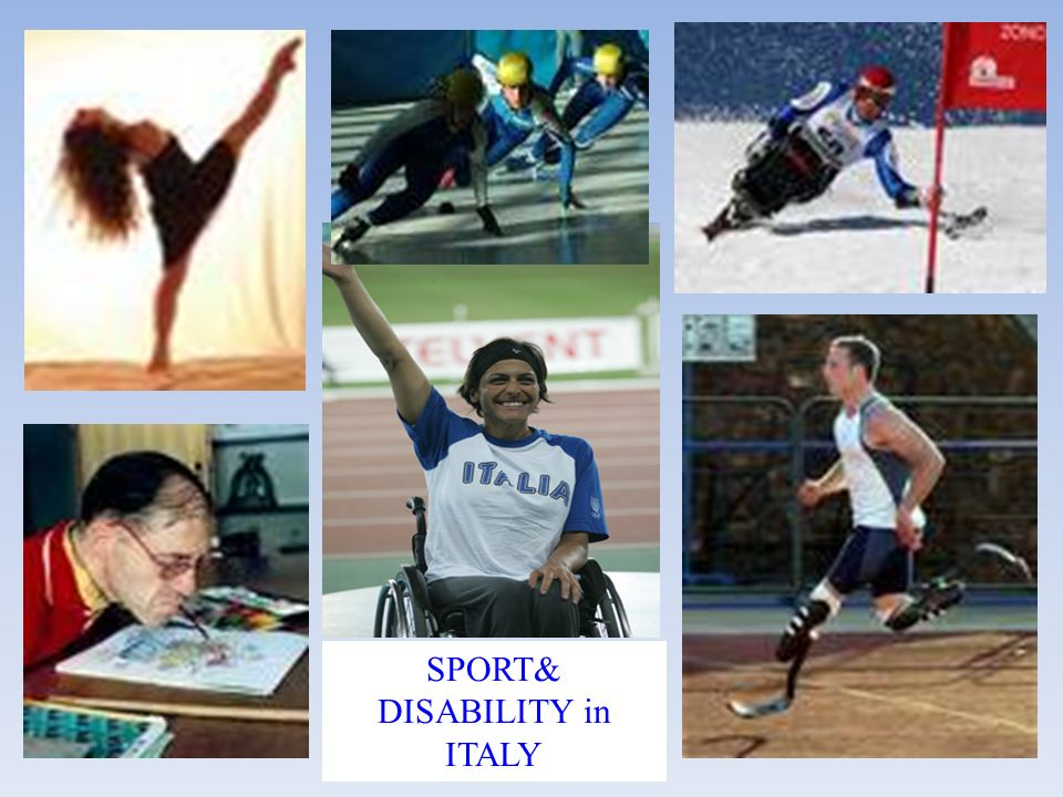 SPORT& DISABILITY in ITALY