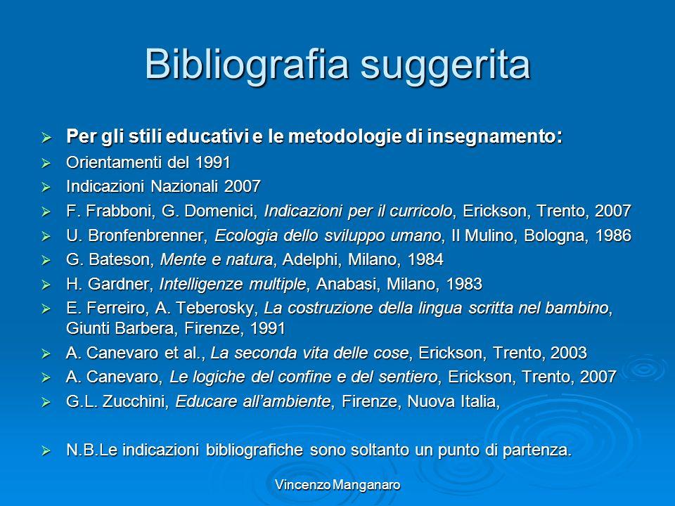 Bibliografia suggerita