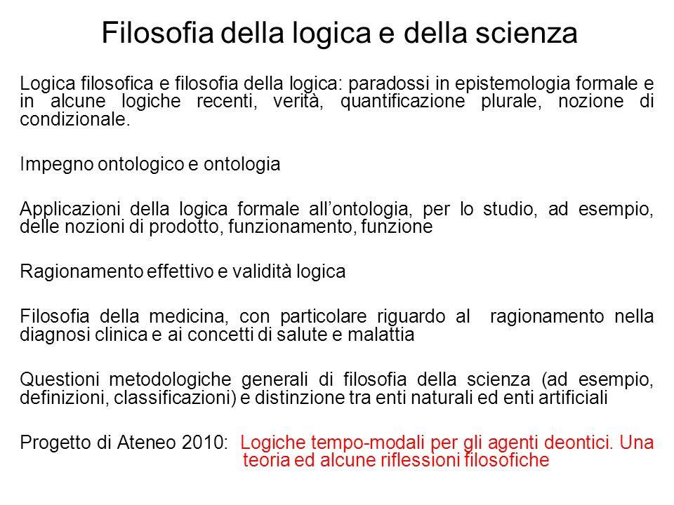 Filosofia della logica e della scienza