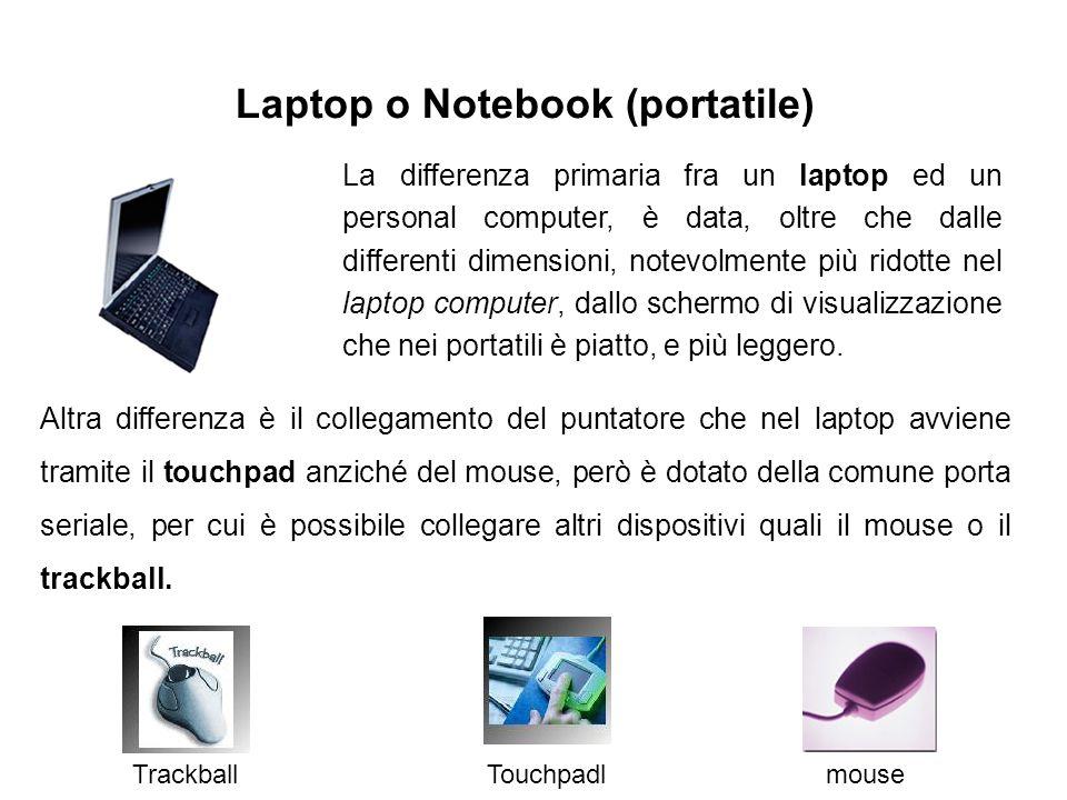 Laptop o Notebook (portatile)