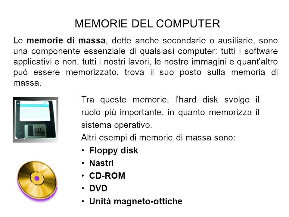 MEMORIE DEL COMPUTER