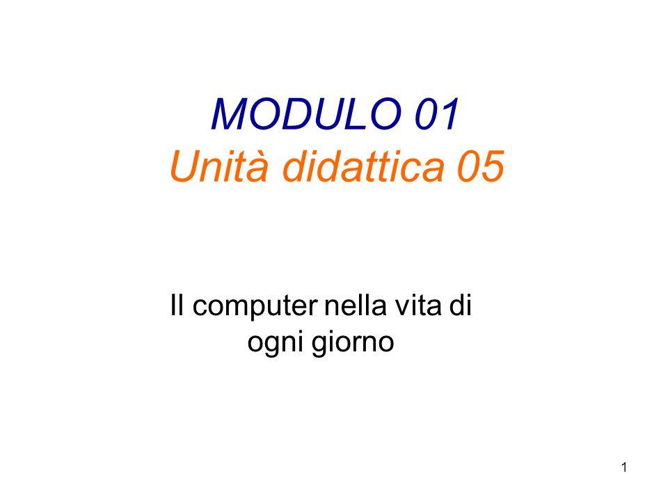 MODULO 01 Unità didattica 05