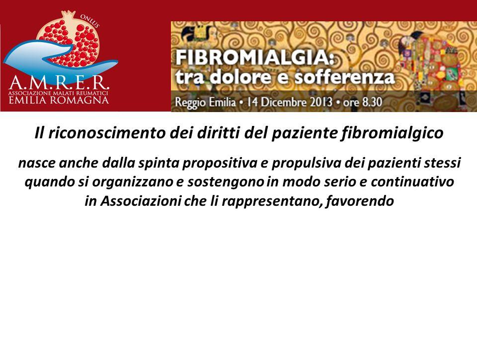Il riconoscimento dei diritti del paziente fibromialgico