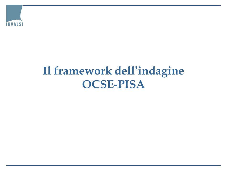 Il framework dell'indagine OCSE-PISA