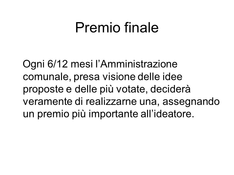 Premio finale
