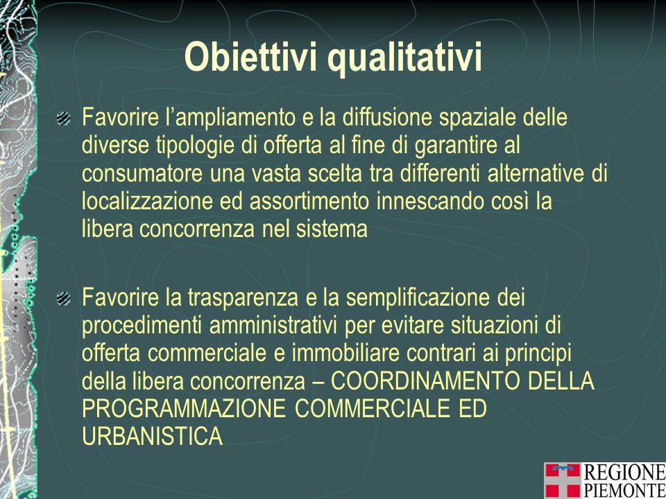 Obiettivi qualitativi