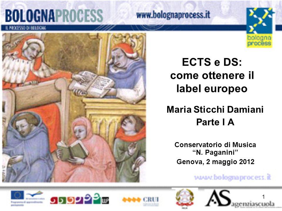 ECTS e DS: come ottenere il label europeo