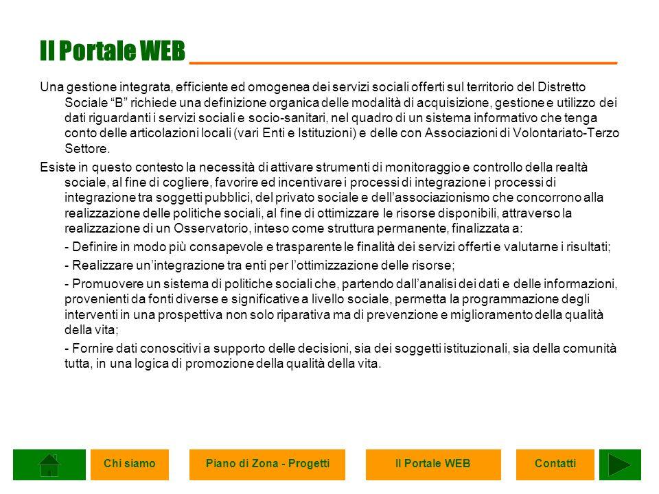 Il Portale WEB ______________________________