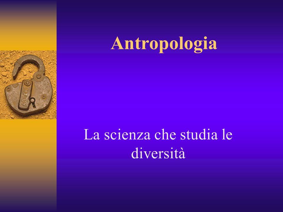 La scienza che studia le diversità