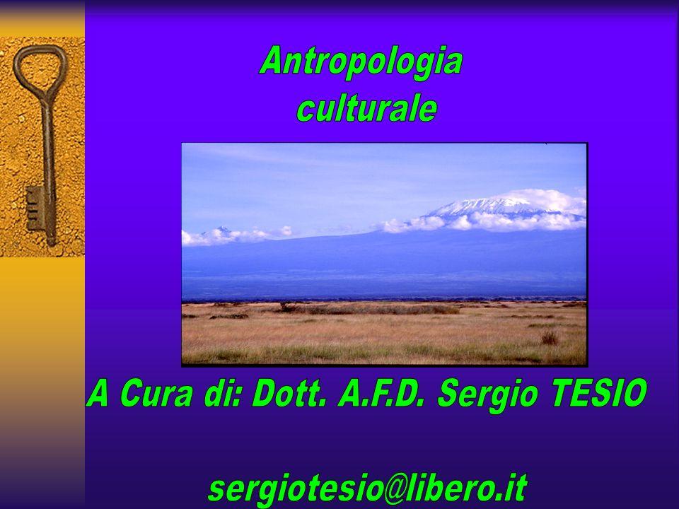 A Cura di: Dott. A.F.D. Sergio TESIO