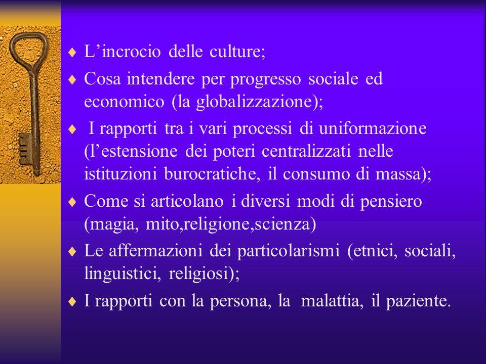 L'incrocio delle culture;