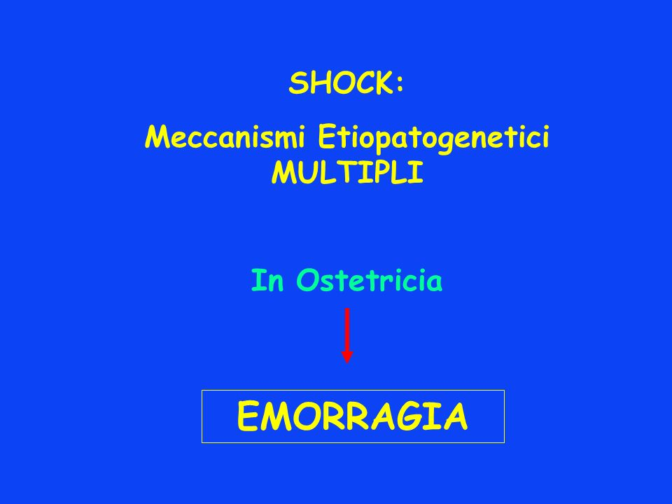 Meccanismi Etiopatogenetici MULTIPLI