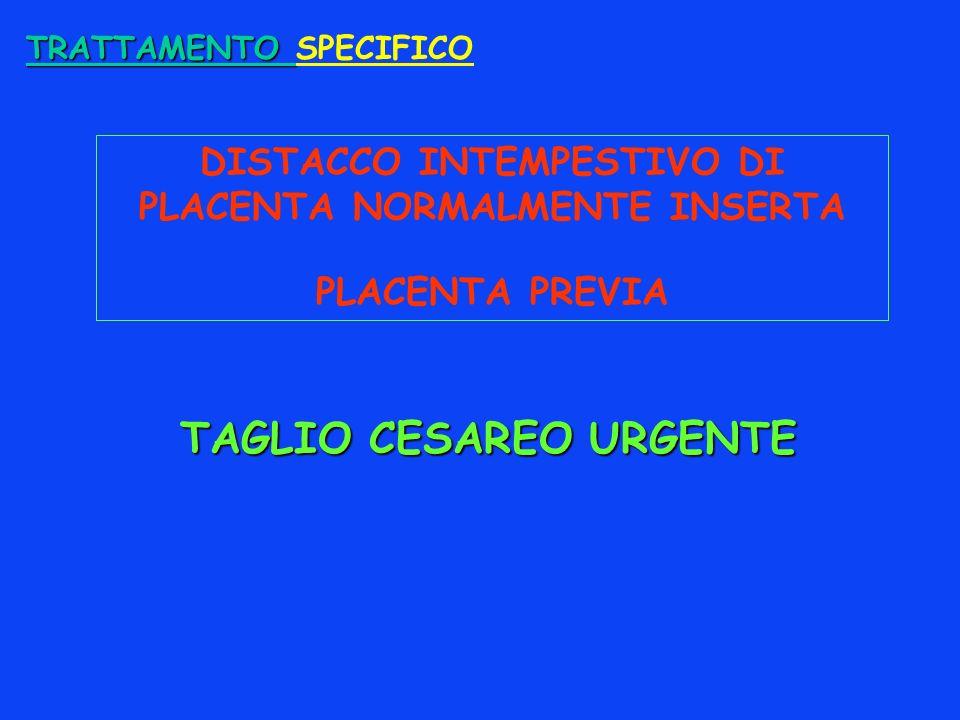 TAGLIO CESAREO URGENTE
