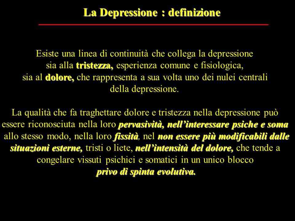 La Depressione : definizione