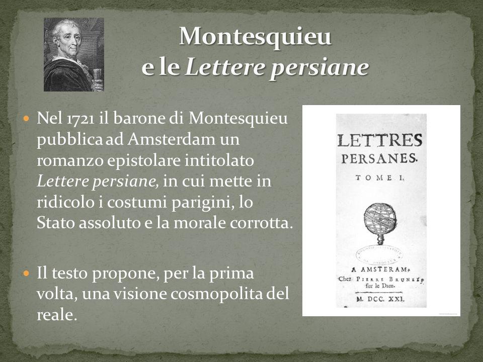 Montesquieu e le Lettere persiane