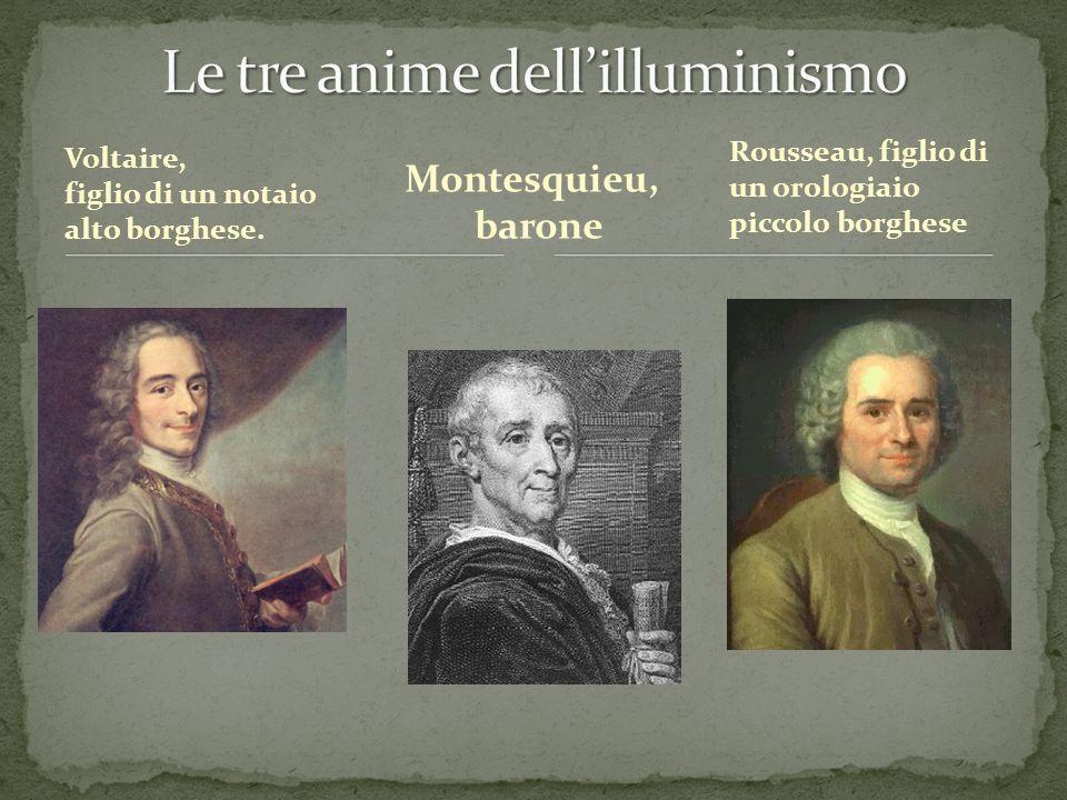 Le tre anime dell'illuminismo