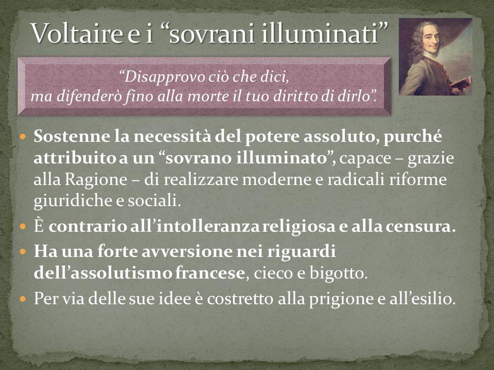 Voltaire e i sovrani illuminati