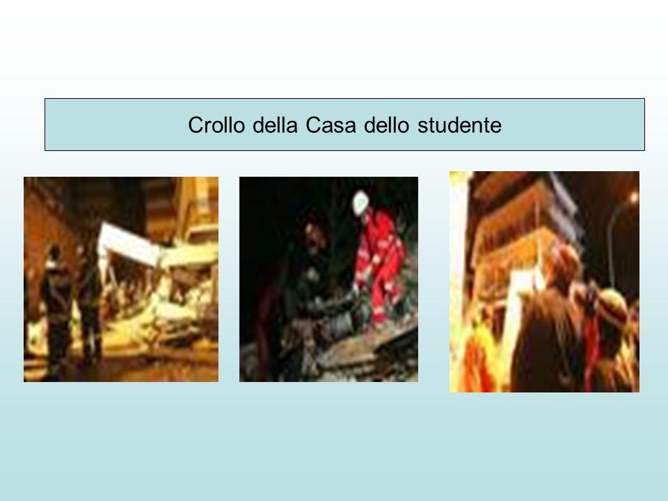 Crollo della Casa dello studente