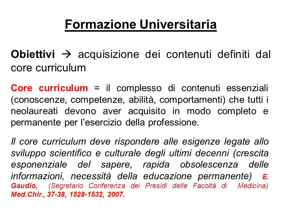 Formazione Universitaria