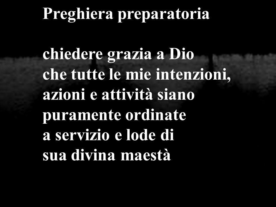 Preghiera preparatoria