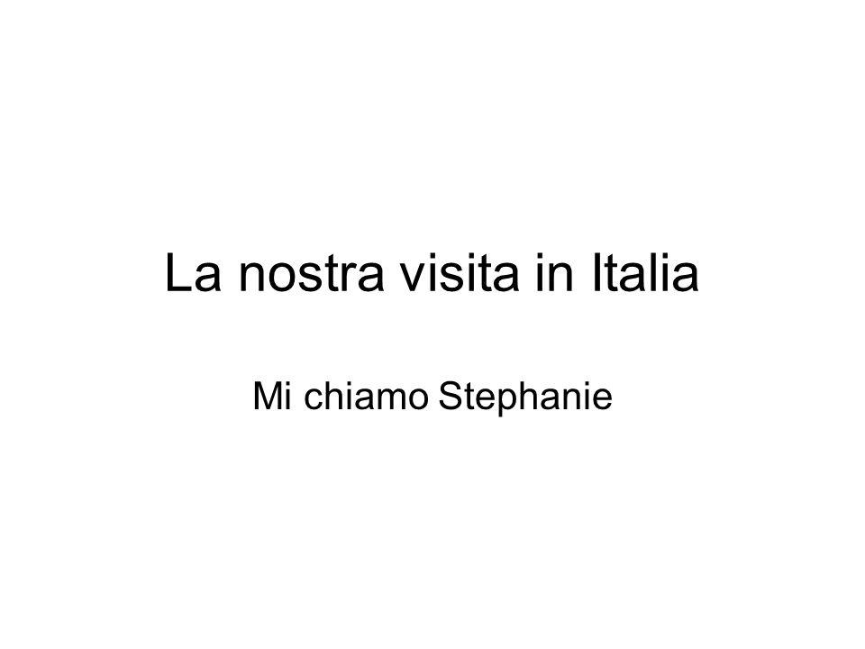 La nostra visita in Italia